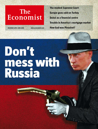 Don't mess with Russia!